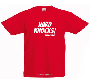 HARD KNOCKS BOXING T-SHIRT - FIGHTWEAR COLLECTION