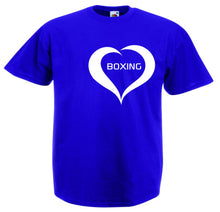 LOVE BOXING HEART T-SHIRT