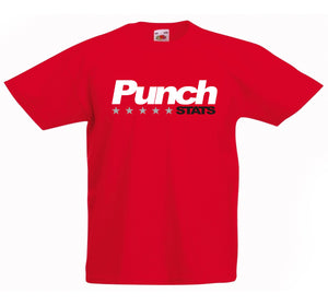 PUNCH STATS BOXING T-SHIRT