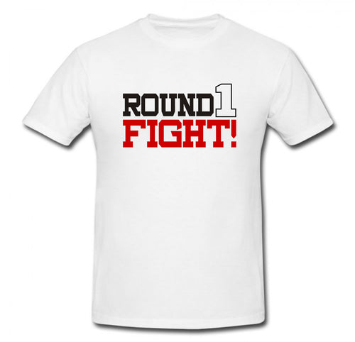 ROUND 1 FIGHT T-SHIRT