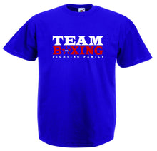 TEAM BOXING FIGHTING FAMILY BOXING T-SHIRT