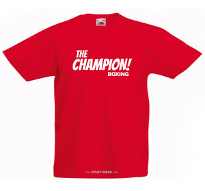 FREE 'THE CHAMPION BOXING' T-SHIRT - FIGHT WEAR COLLECTION