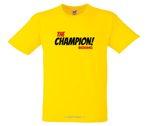 THE CHAMPION BOXING T-SHIRT - FIGHT WEAR COLLECTION