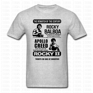 ROCKY Vs APOLLO CREED CLASSIC BOXING T-SHIRT - ROCKY II