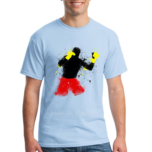 COOL ART BOXING T-SHIRT
