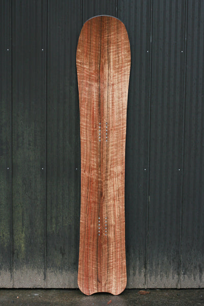 Kindred Tofino wood fishtail powder snowboard