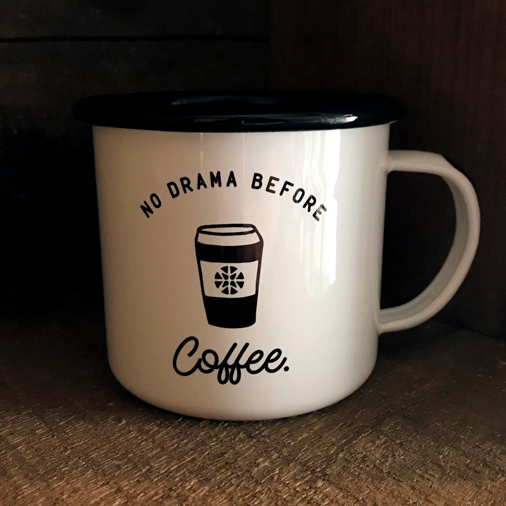 No Drama Before Coffee Mug - TheWaldo