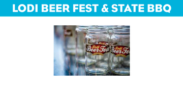 Lodi beer festival & state bbq competition