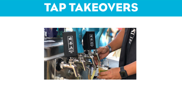 September 2018 Tap Takeovers