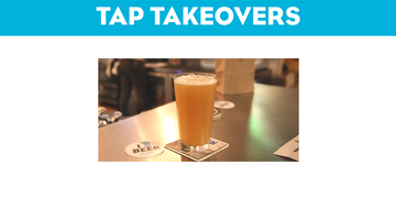 October Tap Takeovers and Tastings
