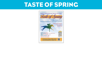 Taste of Spring: A Triple Crown Event!