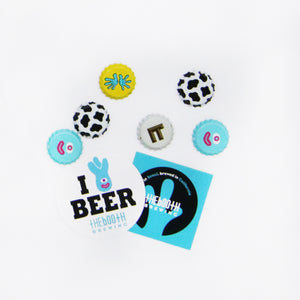 The Booth Bottle Caps