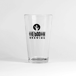 The Booth Logo Pint Glasses
