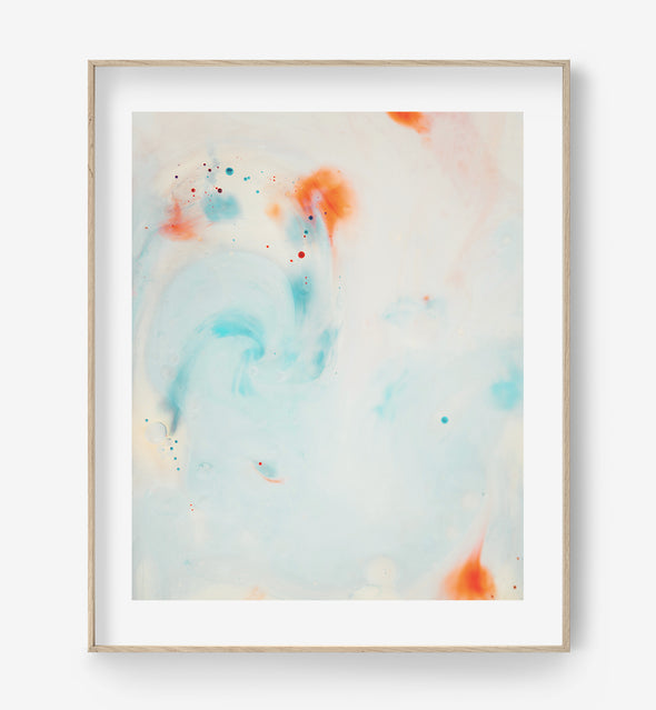 abstract pastel print