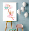 ballerina dancer nursery art