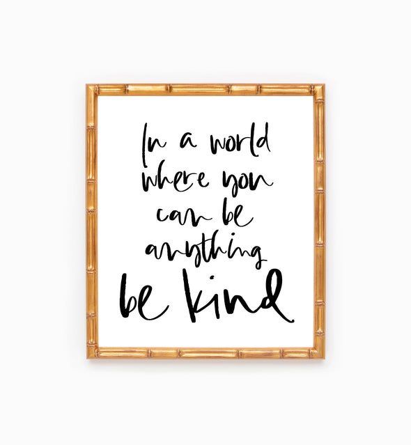 kindness quote poster