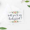 bridesmaid proposal card printable