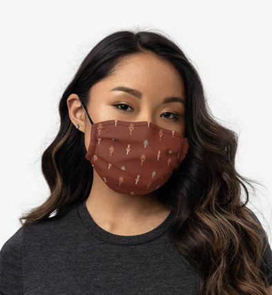 Burgundy Reusable Face Mask