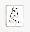 coffe wall art