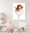 ballerina dancer nursery decor