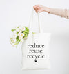 reduce reuse recycle tote