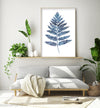 watercolor fern decor