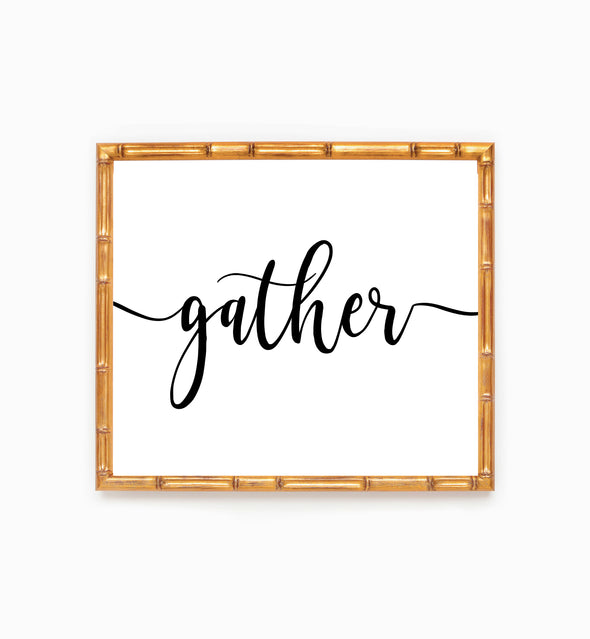 gather wall art