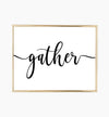gather quote
