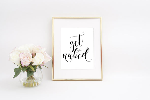 get naked wall art