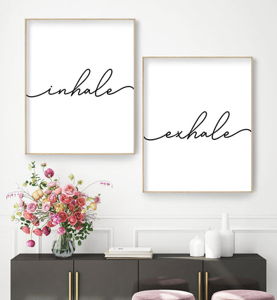 inhale exhale printable