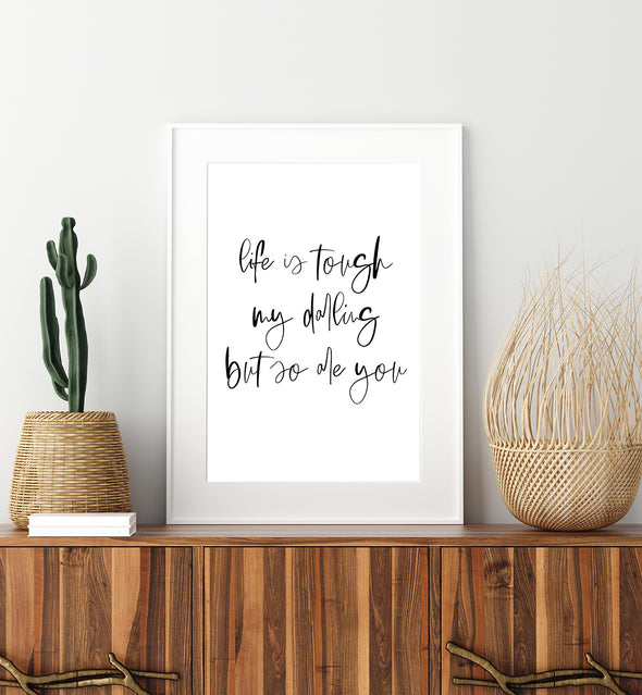 inspirational quote art