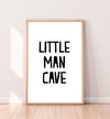 little cave man print
