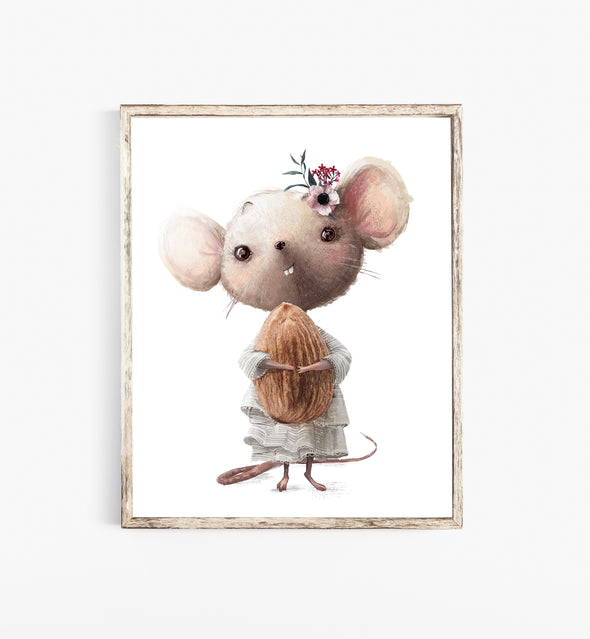 mouse painting nursery