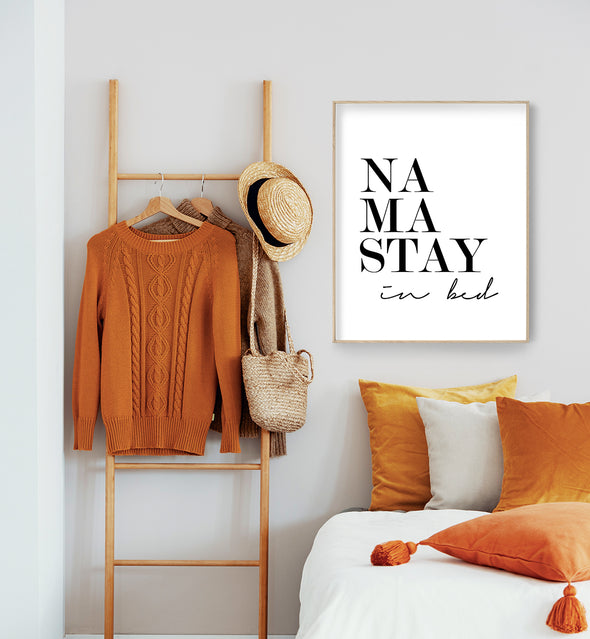 namastay in bed printable
