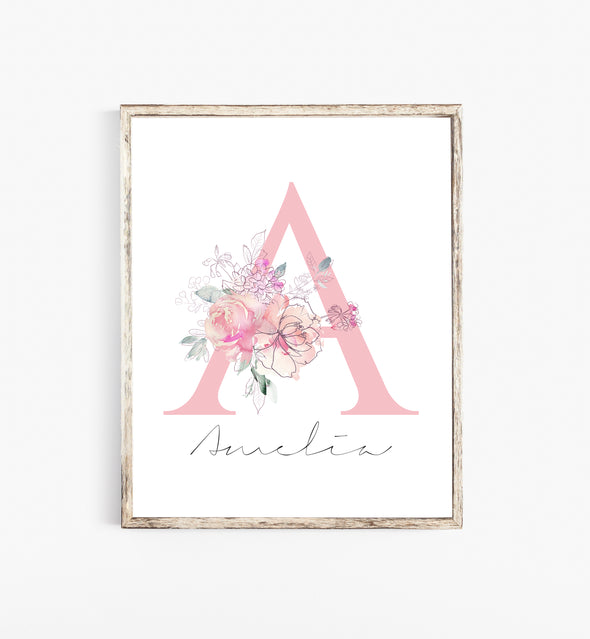 personalized nursery decor