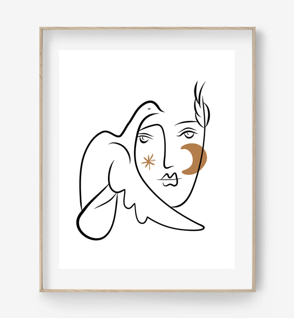 picasso printable art