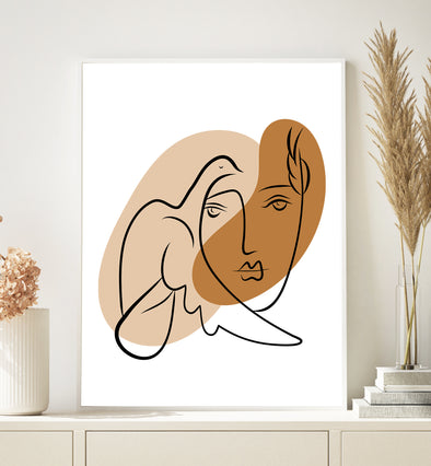 picasso wall decor