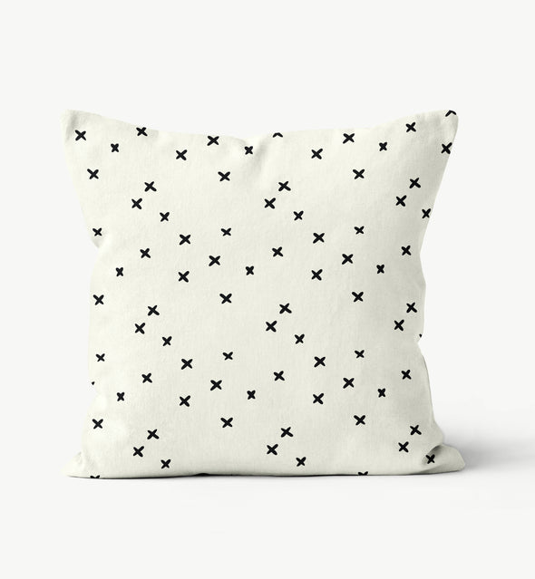 scandinavian cross pillow