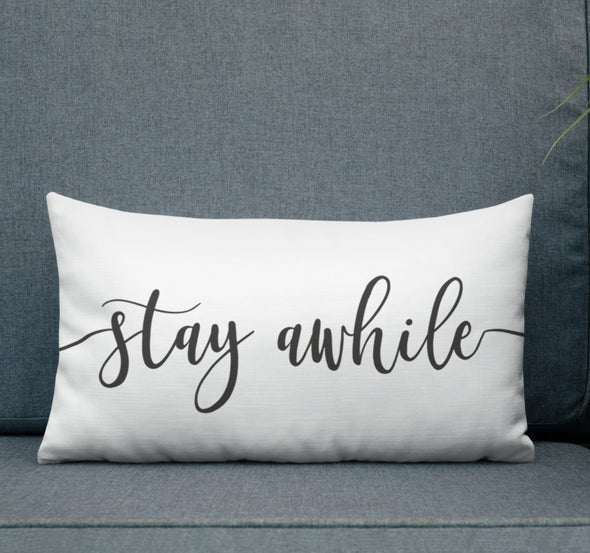 stay awhile decor