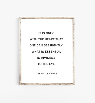 the little prince quotes