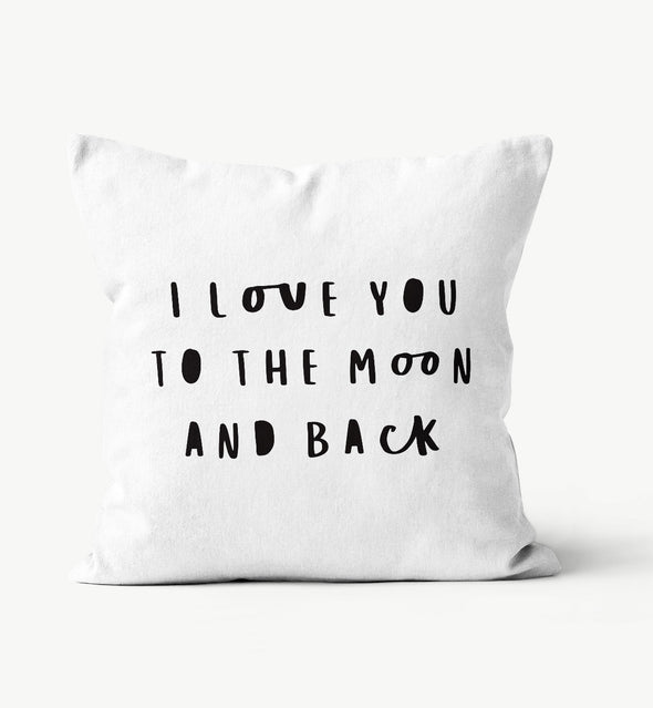 i love you to the moon and back gift