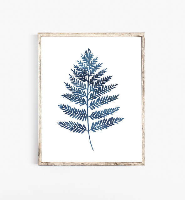 watercolor fern art