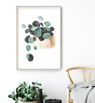 plant watercolor painting