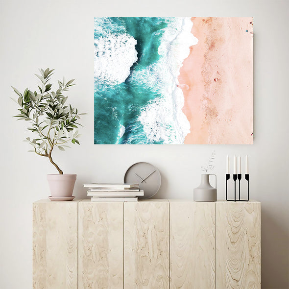 ocean wave wall art