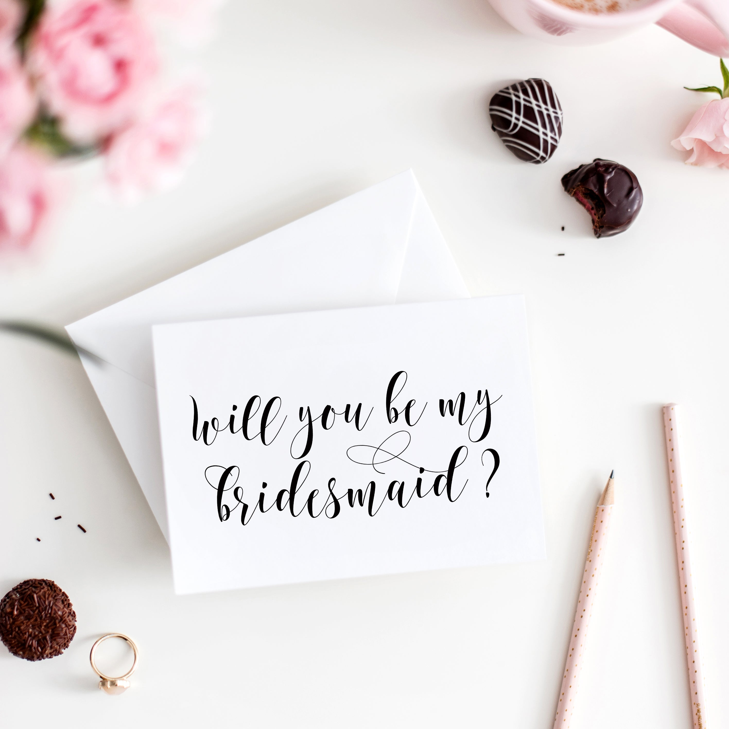 picture regarding Will You Be My Bridesmaid Printable identified as Will Oneself Be My Bridesmaid Card