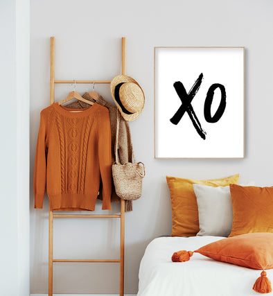 xo printable art