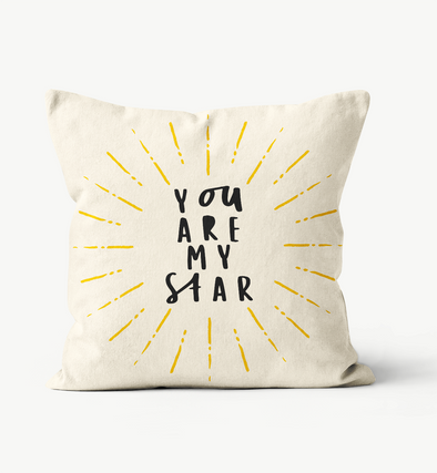 You Are My Star Pillow