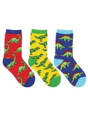 Kid's Dino-Mite! 3-Pack Socks