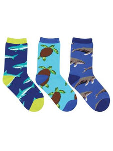 Kid's Little Swimmers 3-Pack Socks