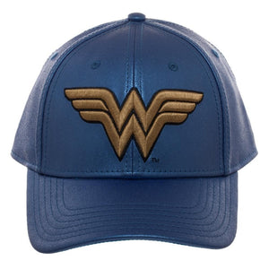 Wonder Woman Light Blue Glitter Adjustable Hat